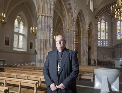 Archbishop of Glasgow back at work after heart attack