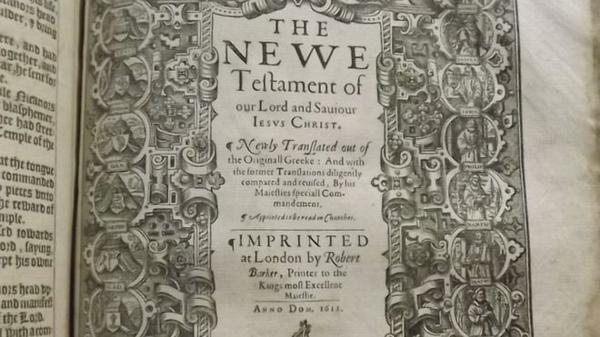 Frenchman helped English translate original King James Bible