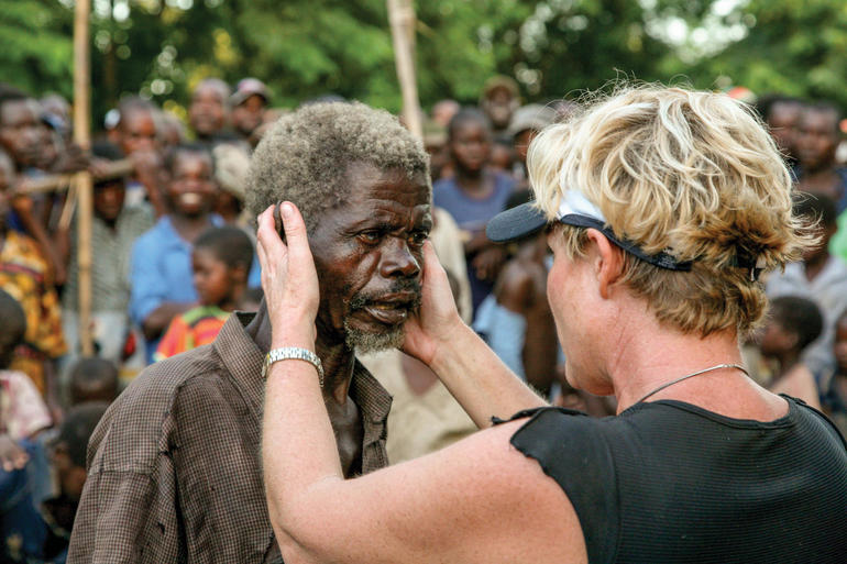 Heidi Baker prays for healing in Mozambique