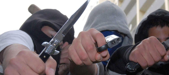 Knife crime - Copyright Action Press / REX Features