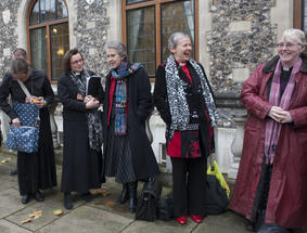 Female Vicars - Copyright Jamie Wiseman / Daily Mail / REX
